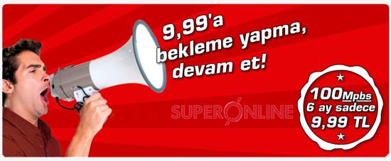 Superonline Fiber İnternet, Super Online Kampanya