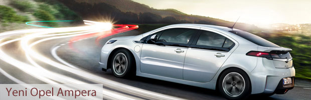 Yeni Opel Ampera İnceleme - Elektrikli Otomobil
