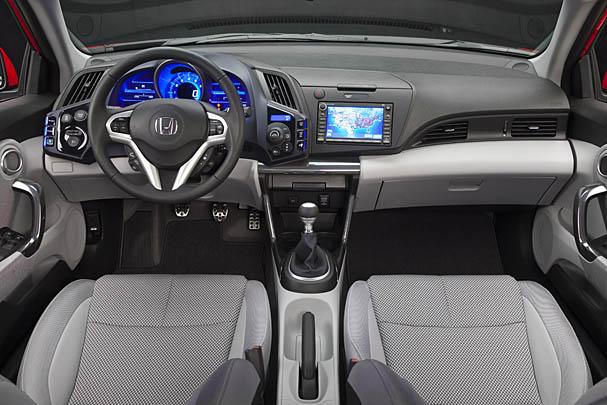 Honda CR-Z İç Dizayn