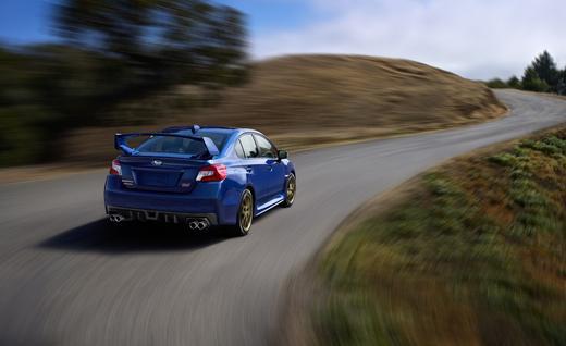 2015 Subaru WRX STI Arka